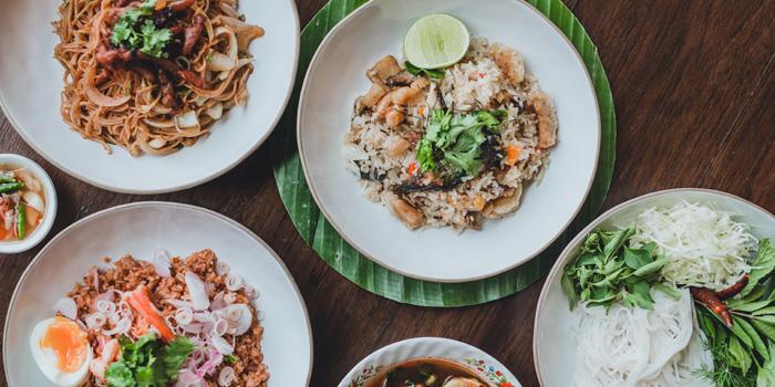 Selection of Food from Bangkok Bold Kitchen at Riverside Plaza Room 257/6, Fl 2, Charoennakorn Rd Samre, Thonburi Bangkok