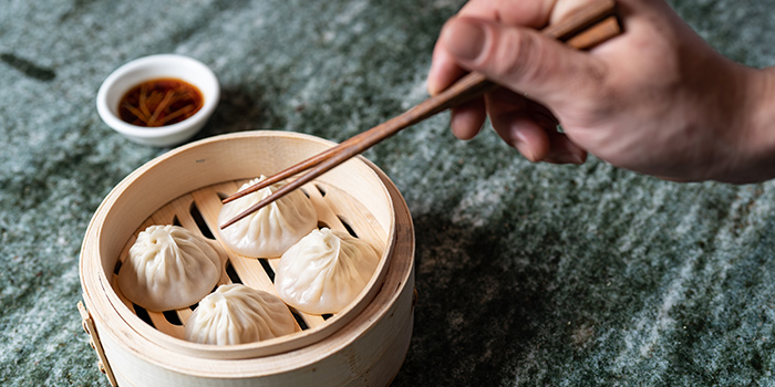 Signature Soup Dumplings, The Night Market, Central, Hong Kong