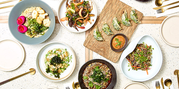 Spread Dishes, VEDA, Central, Hong Kong