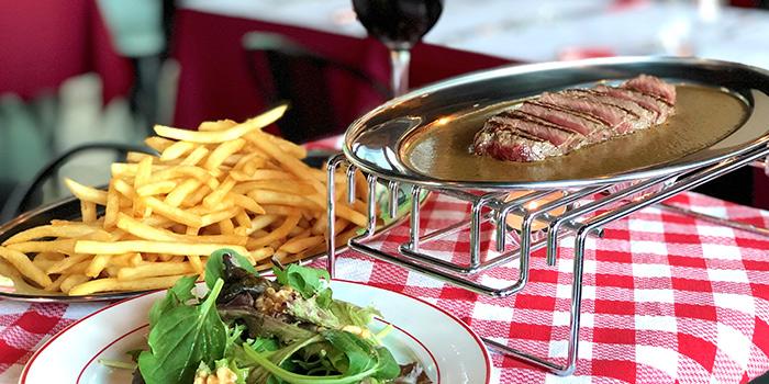 Steak from L