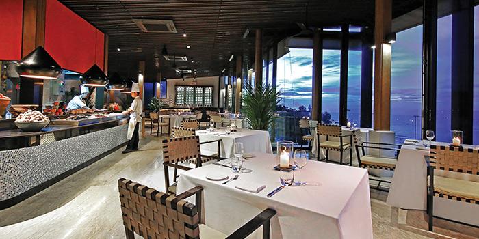 Venue of Sunset Grill in Kamala, Phuket, Thailand