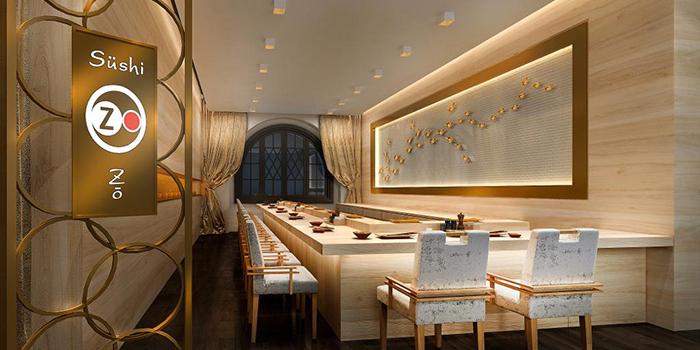 Interior, Sushi Zo, Central, Hong Kong