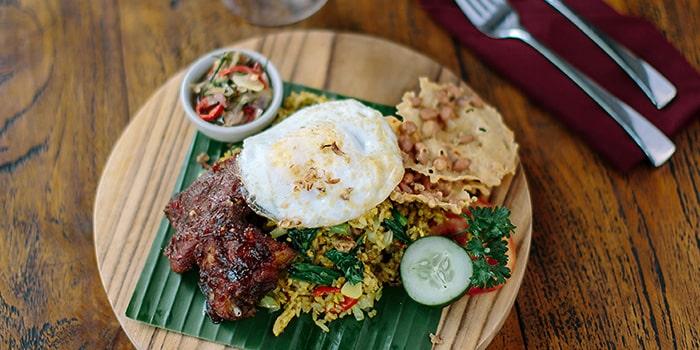 Food from Aruna Restaurant, Ubud, Bali