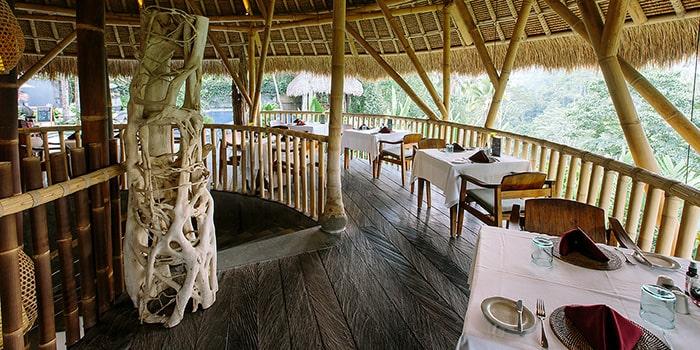 Interior from Aruna Restaurant, Ubud, Bali