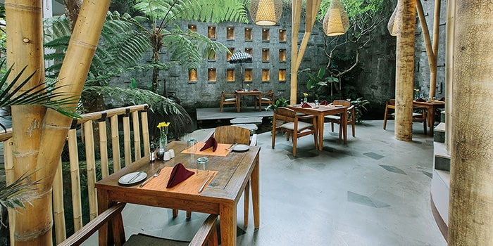 Interior from Aruna Restaurant, Ubud, Bali