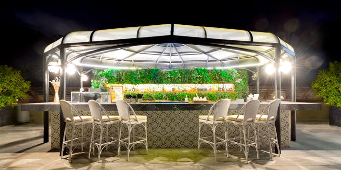 The Bar of Vida Rooftop Bar in Patong, Thailand