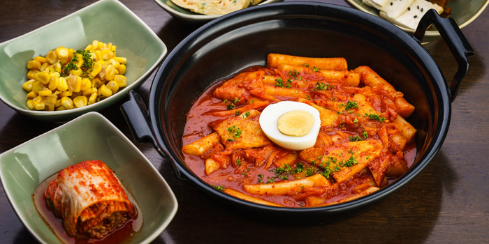 Tokbokki from Banjoo BBQ at Mille Malle 2nd Fl 66/4,201 Sukhumvit 20 Alley, Khlong Toei Bangkok