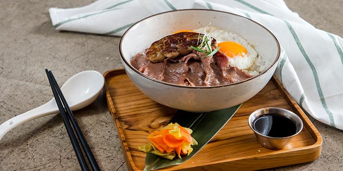 US Prime Beef & Foie Gras Rice, Greenhouse, Causeway Bay, Hong Kong