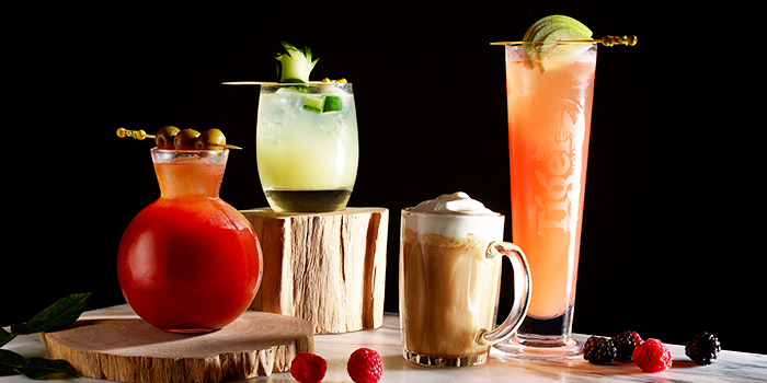Uniquely Local Cocktails from Lobby Lounge & Bar at Holiday Inn Singapore Orchard City Centre in Orchard, Singapore
