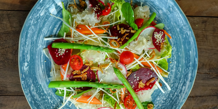 Vegetable Salad from Riedel Wine Bar & Cellar at Gaysorn Village, Bangkok