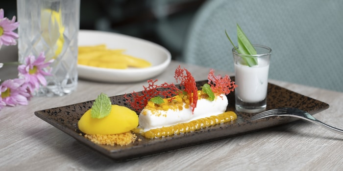 Mango Sticky Rice at Lalla Jakarta