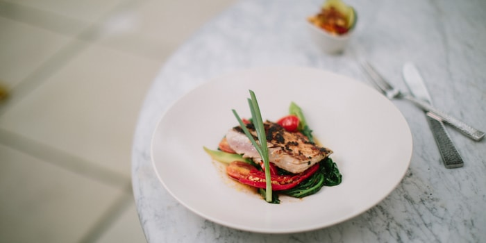 Dish 1 at Kemiri Restaurant (COMO Uma Ubud)
