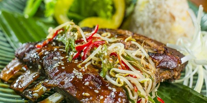 Pork Ribs at Amateras Restaurant (Jannata Resort & Spa)