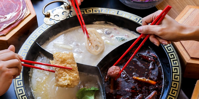 Dish 1 at Lao Lao Huo Guo