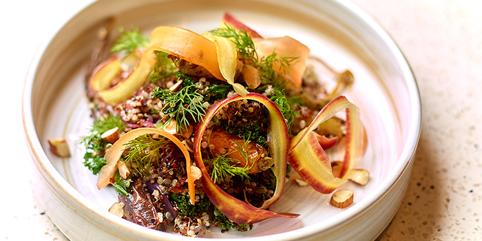 Zaatar Roasted Carrots and Quinoa, VEDA, Central, Hong Kong
