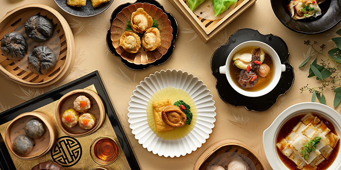 Dim Sum Buffet from Hai Tien Lo in Pan Pacific Singapore in Promenade, Singapore