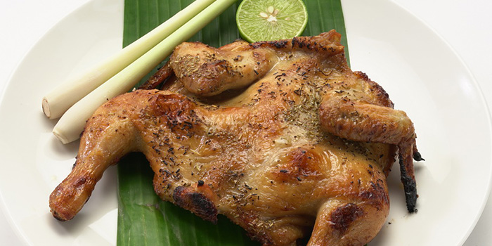 Grilled Chicken, V.THAi, Causeway Bay, Hong Kong