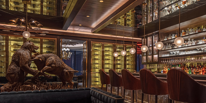 Ambience of Bull & Bear at Waldorf Astoria Bangkok Lower Lobby, 151 Ratchadamri Road Bangkok