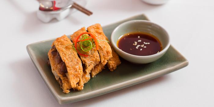 Bean Curd Skin Roll in Brown Sauce from Wang Jia Sha at G20B G floor Siam Paragon Rama 1, Pathumwan Bangkok