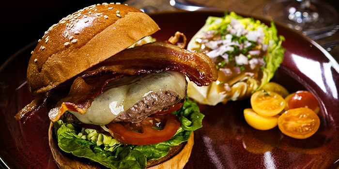 Beef Burger from Bar-Roque Grill in Tanjong Pagar, Singapore