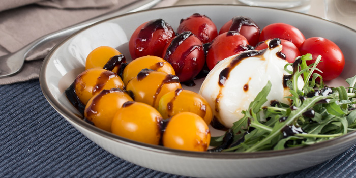 Burrata Salad from Journey Of Meats at 9 Ramkhamhaeng 24 yak 20 (Rama IX soi 41) Bangkok