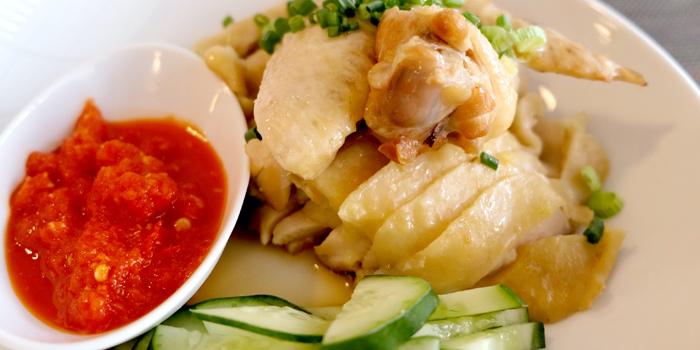 Chicken Rice from Makan Makan at 168/1 Sukhumvit Soi 16 Khlong Toei, Klong Toey Bangkok