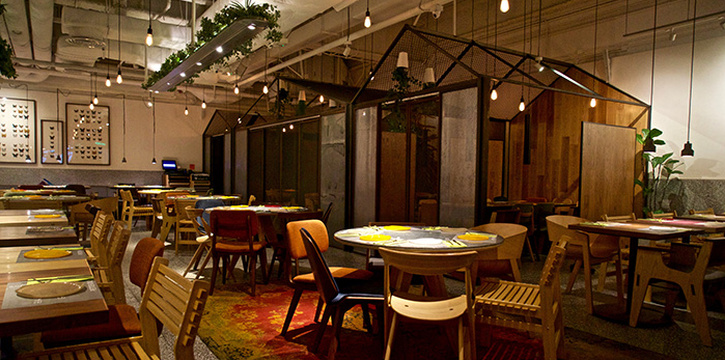 Dining Area, Greenhouse, Causeway Bay, Hong Kong