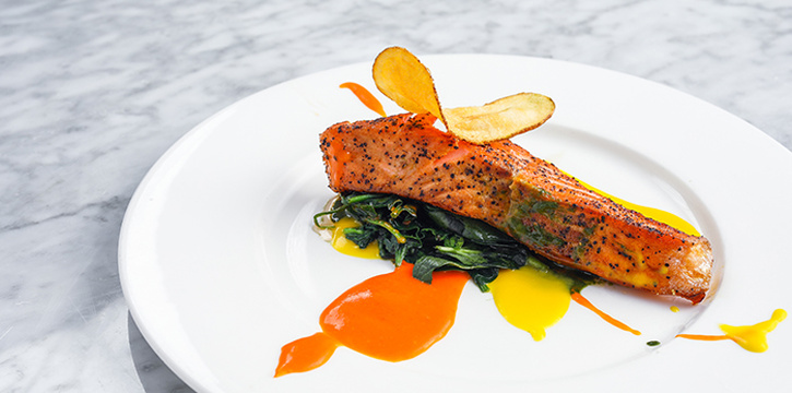 Il Salmone Reale Side, Isola Bar & Grill, Central, Hong Kong