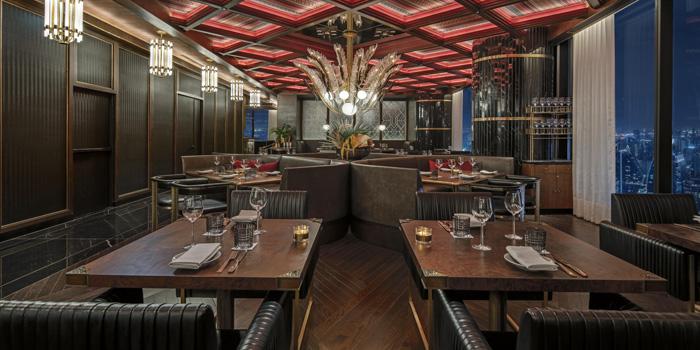 Dining Area of Bull & Bear at Waldorf Astoria Bangkok Lower Lobby, 151 Ratchadamri Road Bangkok