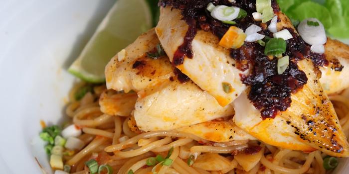 Fish Pasta from Makan Makan at 168/1 Sukhumvit Soi 16 Khlong Toei, Klong Toey Bangkok