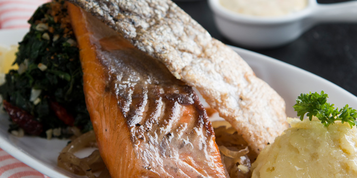 Grilled Salmon from Journey Of Meats at 9 Ramkhamhaeng 24 yak 20 (Rama IX soi 41) Bangkok