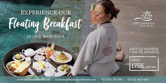 Floating Breakfast from Boga Mandala