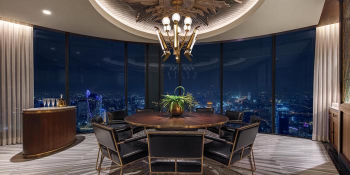 Private Room of Bull & Bear at Waldorf Astoria Bangkok Lower Lobby, 151 Ratchadamri Road Bangkok