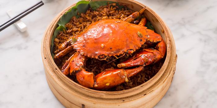 Spicy Whole Crab from Wang Jia Sha at G20B G floor Siam Paragon Rama 1, Pathumwan Bangkok