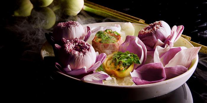 Halibut Thai Ceviche from Sra Bua by Kiin Kiin at Siam Kempinski Hotel in Siam, Bangkok