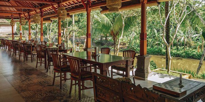 Interior from Boga Mandala Restaurant, Ubud, Bali