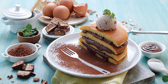 Youre The Devil in Disguise Pancakes at Cosmic Diner Sanur Arcade