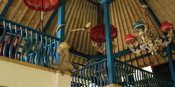 Interior from Warung Enak, Ubud, Bali