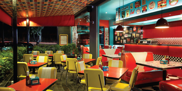 Interior 3 at Cosmic Diner, Sunset Star