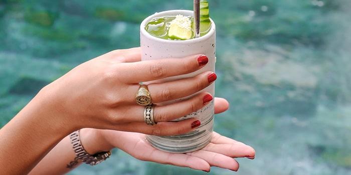 Drinks from Ninety One Bali, Canggu