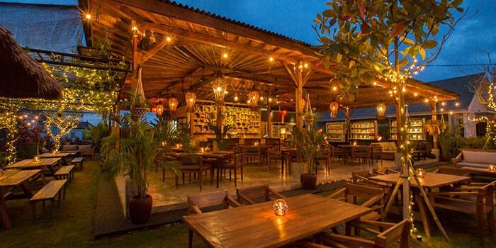 Interior from Beach Garden In The Raw Bali