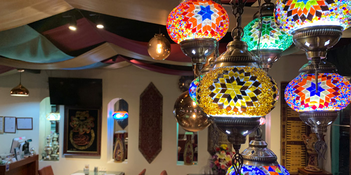 Ambience of Persian House at 48/2-3 (Soi Wat Khak) Pan Road, Silom Bangkok