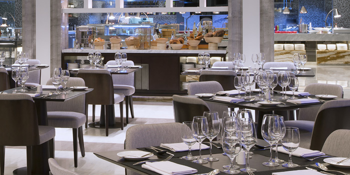 Interior 2 at Anigre Restaurant, Sheraton Gandaria