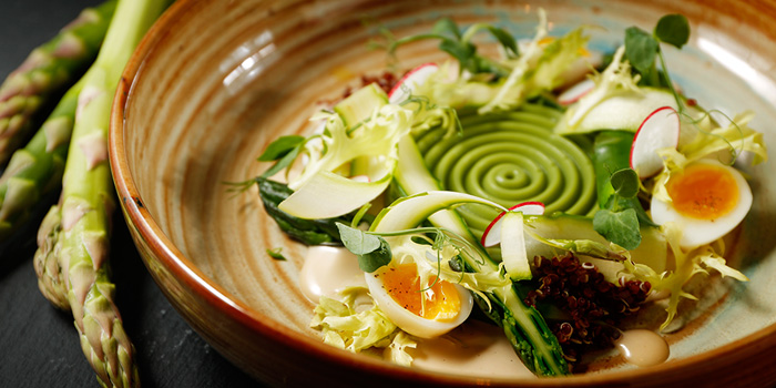 Asparagus, Maison ES, Wan Chai, Hong Kong