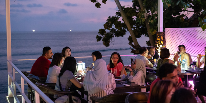 Night Time from White Box Restaurant in Patong, Kathu, Phuket, Thailand