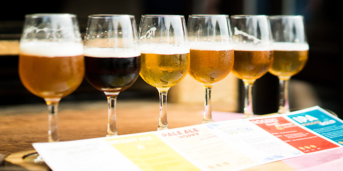 Beer Paddle, Little Creatures, Kennedy Town, Hong Kong