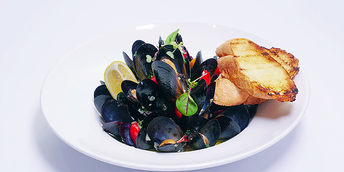 Blue Mussels, Al Dente (Harbour Road), Wan Chai, Hong Kong