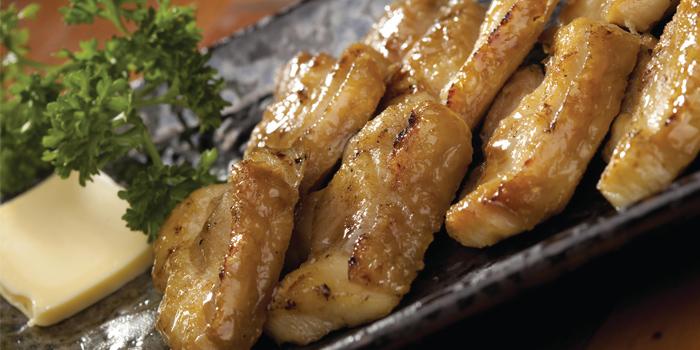 Butter Boneless Chicken Leg, Woo Tung Yakiniku Dining Bar (Wan Chai), Wan Chai, Hong Kong