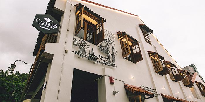 Exterior from Caffé B at Club Street, Singapore
