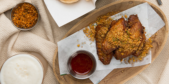 Chicken Wings, Glasshouse (IFC), Central, Hong Kong